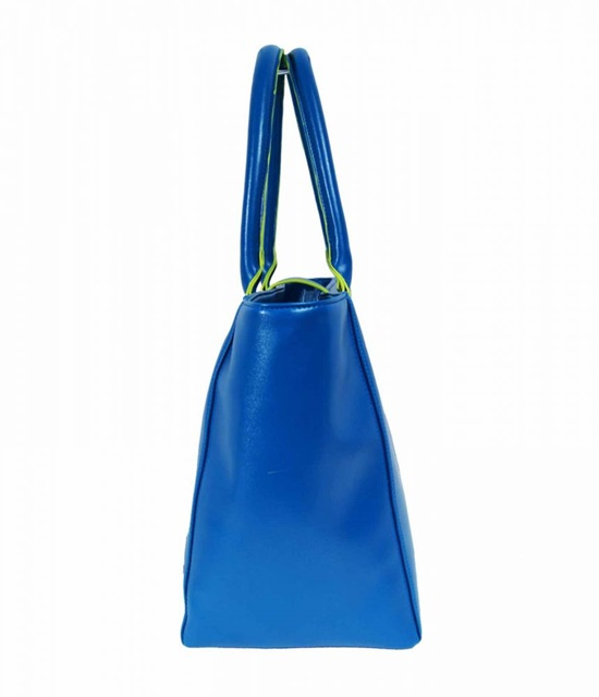 KABELKA XXL SHOPPER BAG od Jazzi London (K2364) - modrá